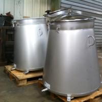 Tank à lait en inox alimentaire