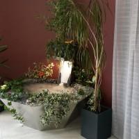 Fontaine d'intérieur en inox