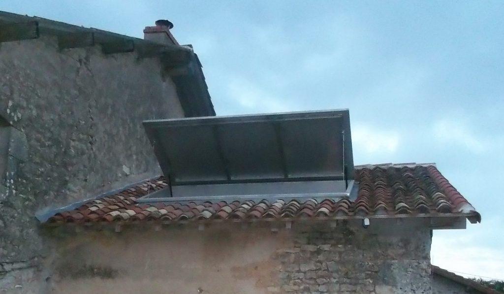 Trappe de toiture - Inox