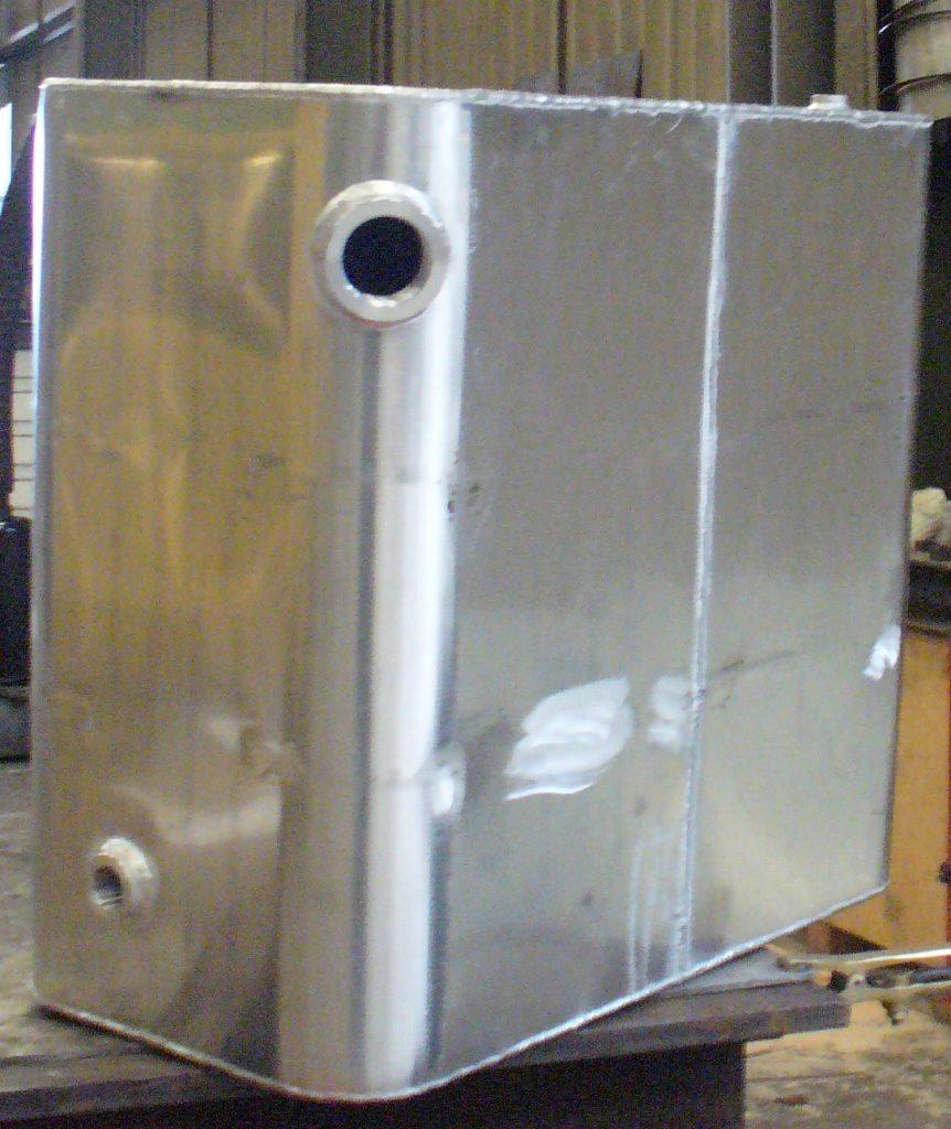 Réservoir aluminium