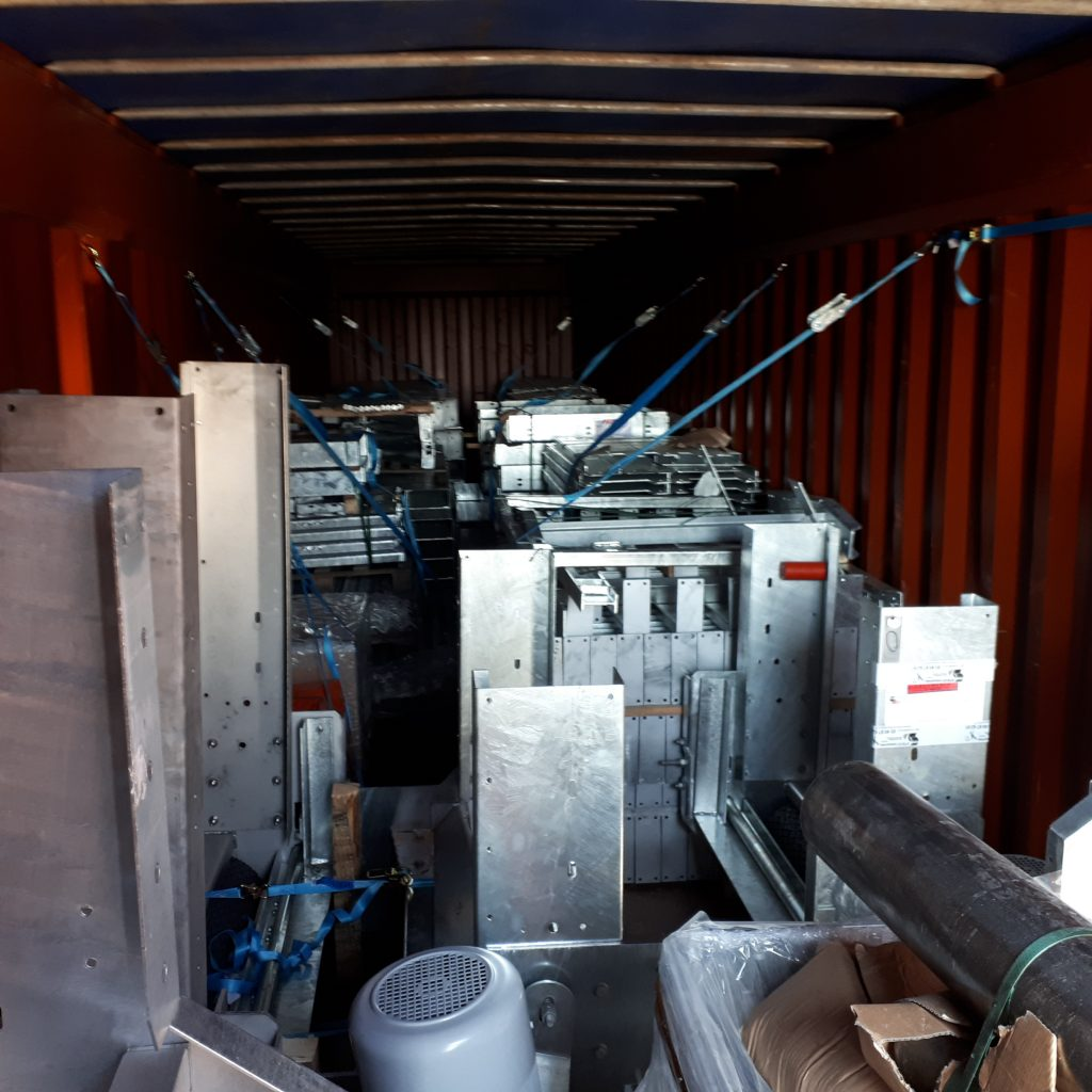 Chargement container