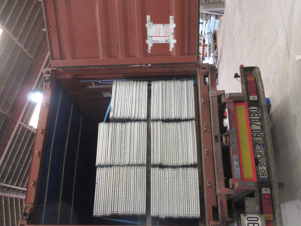 Tétris container