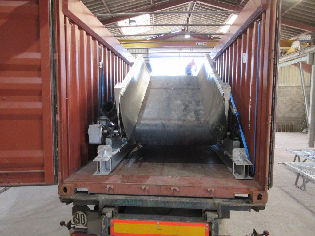 Machine en container