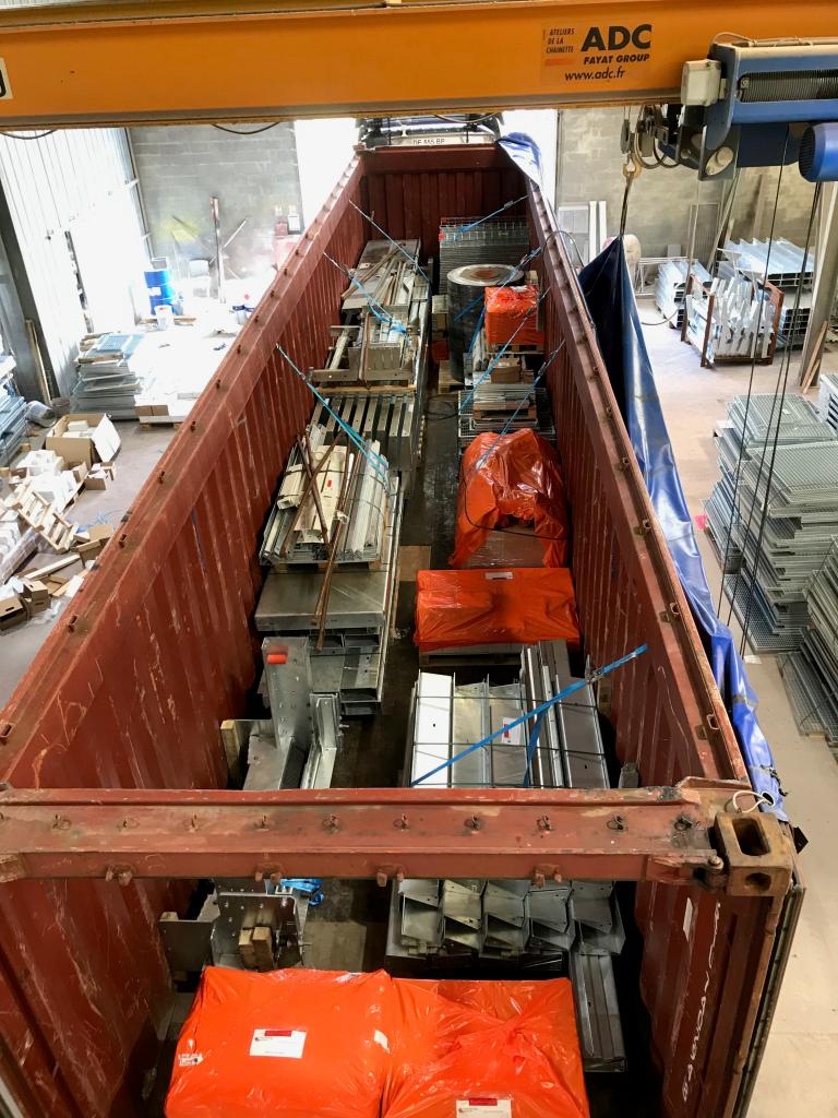 Container chargé