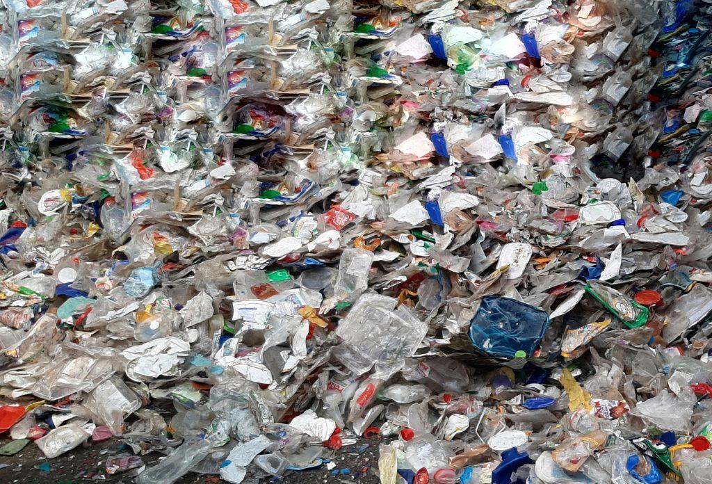 nos poubelle jaunes triées