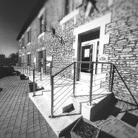 Garde-corps inox accès Mairie